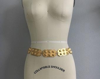 Vintage Bold Gold Spanish Made Link Belt