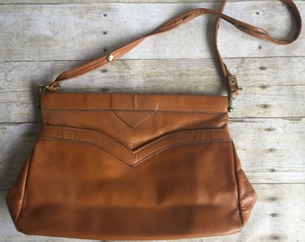 Brown Leather Bag Small Purse