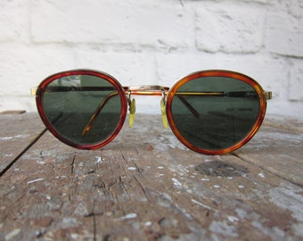 Vintage -Tortoise Shell- Sunglasses  Made in Taiwan