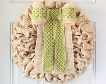 Mothers Day Wreath, Housewarming Gift, Wreath For Door, Farmhouse Rustic Home Decor, Front Door Wreath, Burlap Wreath, Unique Gifts Ideas