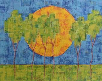 Treeline and the Big Sun