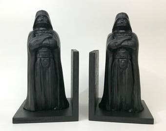 Star Wars Darth Vader Bookends//Darth Vader Figurines Book Ends//Star Wars Collectible//Darth Vader Statue//Star Wars Figurines