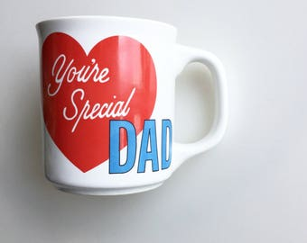 1980s You're Special DAD MUG // Vintage Dad Mug // Fathers Day Gift