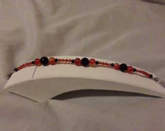 fire red bracelet