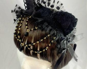 Black Cat Headdress