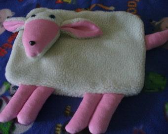 Pink Lamb Pajama Bag