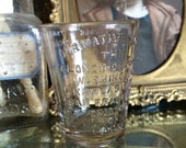 You Could Still Take Your Whiskey In This Antique Alonzo O Bliss Glass Apothecary Glass