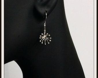 Fireworks Artisan Handmade sterling silver earrings  dangle earrings for woman