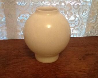 "Milk Glass Globe Chimney Shade Small Victorian Parlor Lamps Rare Size 2-1/8"""