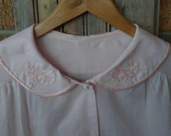 Vintage Peter Pan collar night shirt Oversized