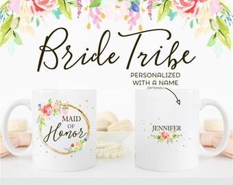 Custom Maid of Honor Mug | Maid of Honor Gift | Gift for Maid of Honor | Bridal Party Favor | BFOTB | Matron of Honor | MCW1