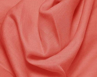 PER YARD Clearance Wild Coral #538 Imperial Broadcloth Fabric from Spechler Vogel Fabrics