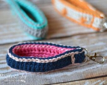 Crochet Key Fob Crochet Pattern DIGITAL DOWNLOAD