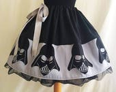 Dark Side Skirt, SALE By Rooby Lane