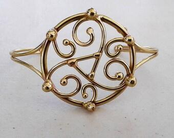 Bronze Trisekion Bracelet