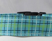 Dog Collar, Martingale Collar, Cat Collar - All Sizes - Lunchbox in Blue