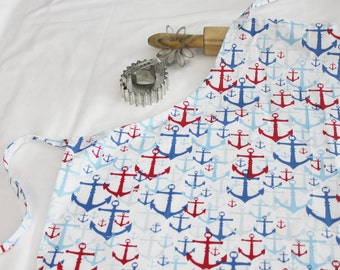Anchors Adult Apron