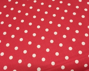 Prairie Polka Dot Pink Bright Pink Cotton Quilt Fabric by 1/2 Yard # 29005 26