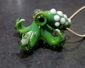 Spotted Squidlet Pendant