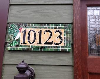 Address Plaque; Craftsman Address Plaque; House Numbers