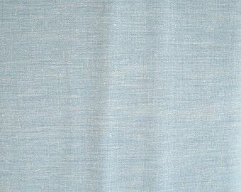 Dusty Blue Broadcloth Fabric, Roc-Lon, Polyester/Combed Cotton Blend, 1 yard cut