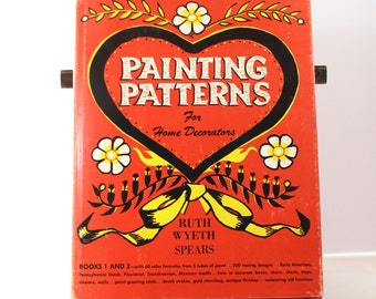 Book of Painting Patterns for Home Decorators  by Ruth Wyeth Spears 1956