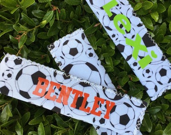 Personalized Soccer Ice Pop Sleeve - Ice Pop Holder - Soccer Team Favors - Soccer Party Favors - Party Favors - Soccer - Soccer Favors