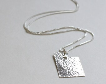 Utah Necklace. Custom Silver University of Utah Jazz Shaped Art Charm. State of Utah Park City Map Pendant. Mother Daughter Jewelry.