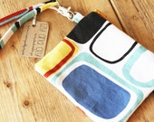 Kandinsky Bag - Purse - Wallet - Zipper Pouch - Detachable Strap