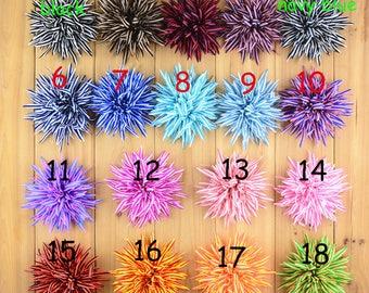 Set of 18 Chiffon flower - Fabric Flowers- headband supplies-Wholesale Fabric Flower, Diy Flowers - wholesale hair flowers 18 colors to pick