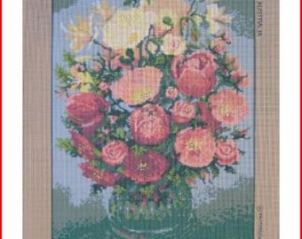 Floral Needlepoint Canvas: Poppies & Co New