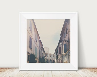 Arles photograph France photograph Provence photograph travel photography architecture photo Arles print amphitheatre photograph
