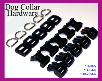 Dog Collar Hardware, 10 Sets of Dog Collar Hardware, Dog Hardware, Pet Hardware,