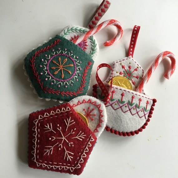 Christmas Pocket Decoration Instant download Pattern