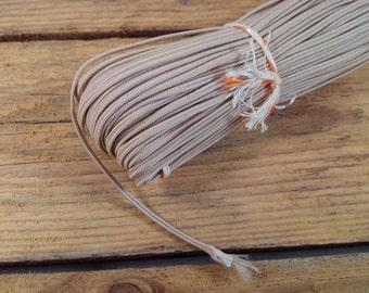 54.68 yards (50m) Light beige Soutache Braid Soutache jewelry making Soutache cord, russian braid, soutache trim, bracelet cords, trim braid