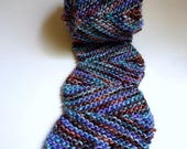 SALE: Triangulum Scarf, PDF Knitting Pattern