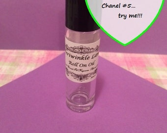 Chanel #5 type roll on perfume