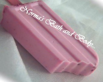 raspberry chocolate ice cream bar soap, ice cream soap, ice cream, health and beauty, kids soap, dessert soap, bath and body, ice cream
