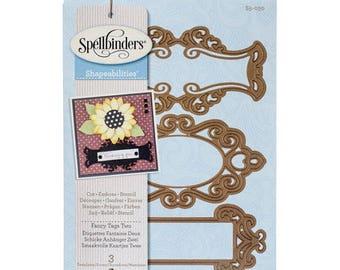 FANCY TAGS TWO Spellbinders Shapeabilities - S5-030