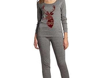 Adult Pajamas, Holiday Pajamas, adult Christmas pajama, Christmas pj for family, plaid, fair aisle,  women's pajamas