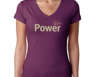 Power yoga t shirt /Power t-shirt/ Inspiring t-shirt | Women's t-shirt | tshirts with sayings | Women's tee | Empowerment | Gifts for Her