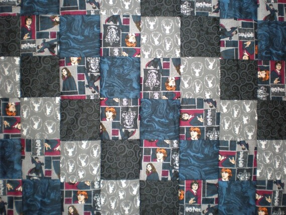 Harry Potter Patchwork Quilt By Goughgoodies On Etsy