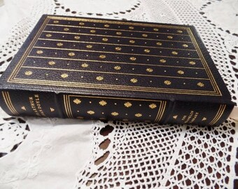 Best of SHERLOCK HOLMES Vintage Book by Sir Arthur Conan Doyle Limited Edition Franklin Mint Library 1977