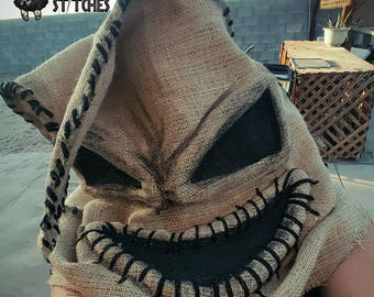 Oogie Boogie Mask or Tree topper!