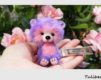 Violet - miniature Tulibear by Hana Straková