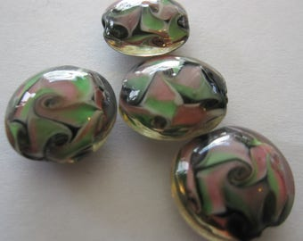 ArtGlass Combo Beads E277