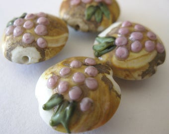 Grape Cluster Beads E291
