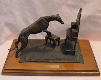 Greyhound Sculptures Etsy