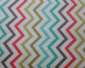 Mini chic chevron  by Micheal Miller retro colors  fabric