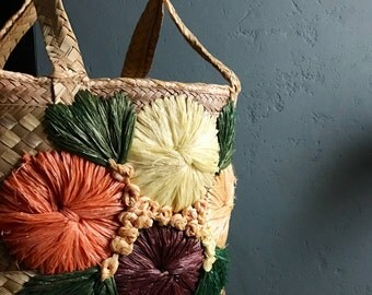 Beautiful Handwoven Grass Tote